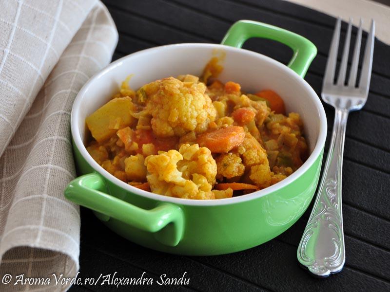 Curry cu legume