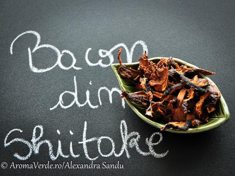 Bacon din ciuperci shiitake