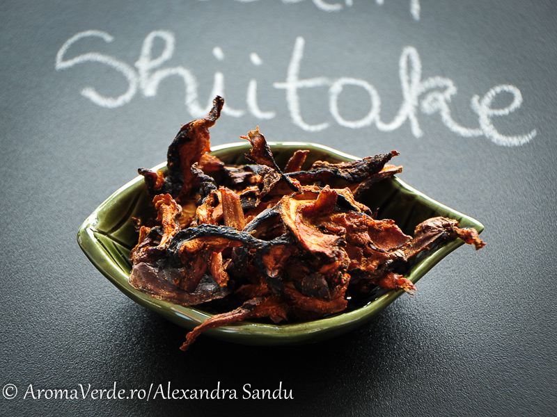 Bacon vegetal din shiitake