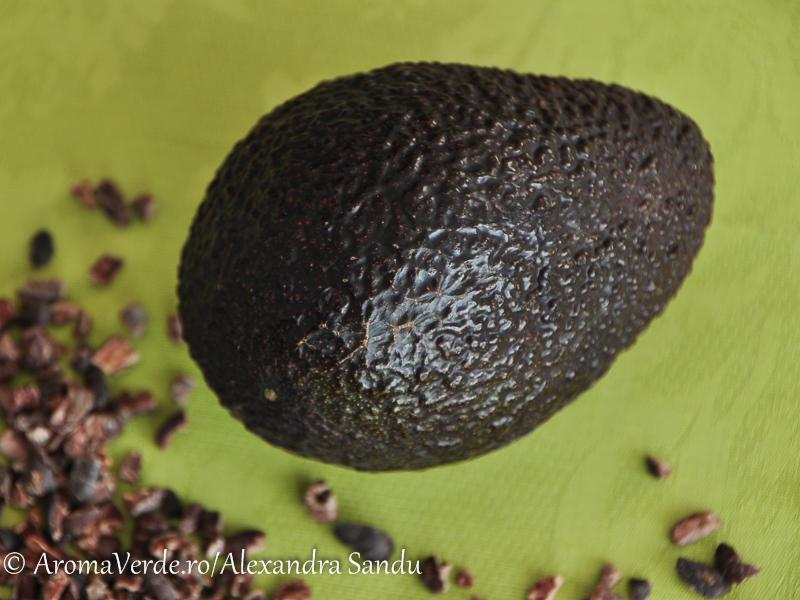 Avocado si cacao nibs