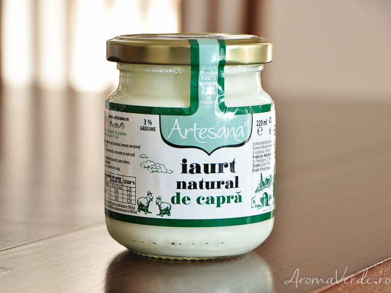 Iaurt natural de capră Artesana
