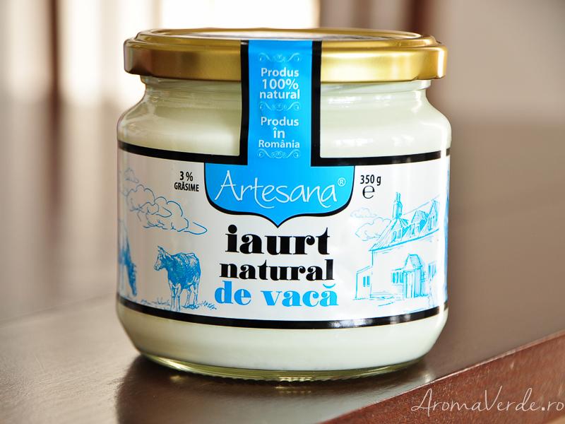 Iaurt natural de vacă Artesana