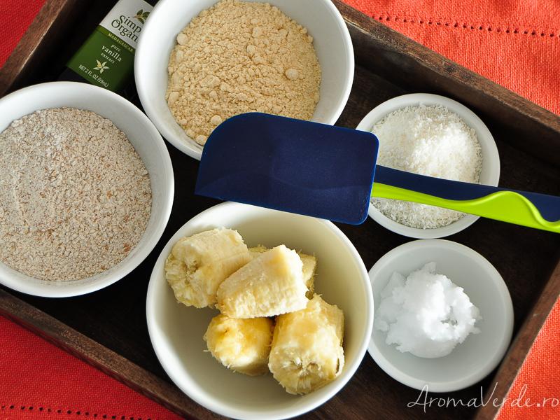 Ingrediente pentru fursecuri fara zahar