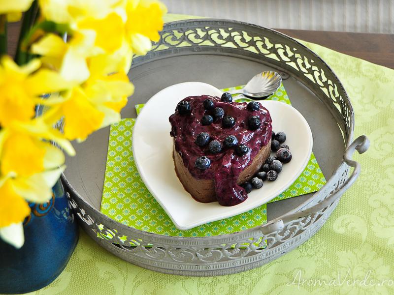 Prajitură raw vegană fără nuci sau alune si flori