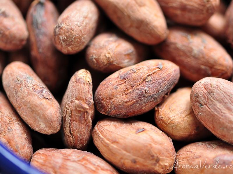 Boabe raw de cacao