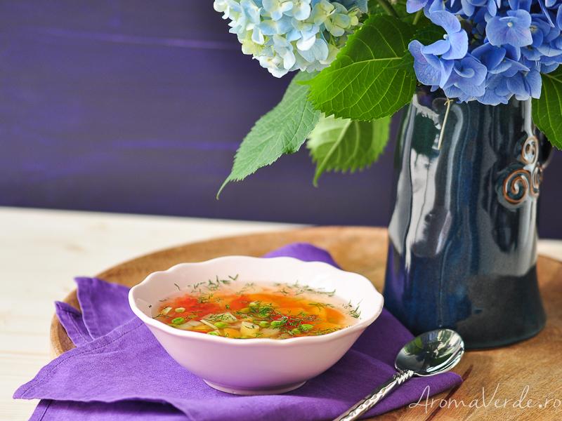 Ciorbita cu legume
