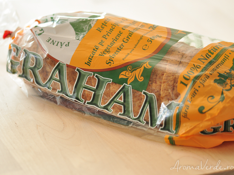 Pâinea Sylvester Graham