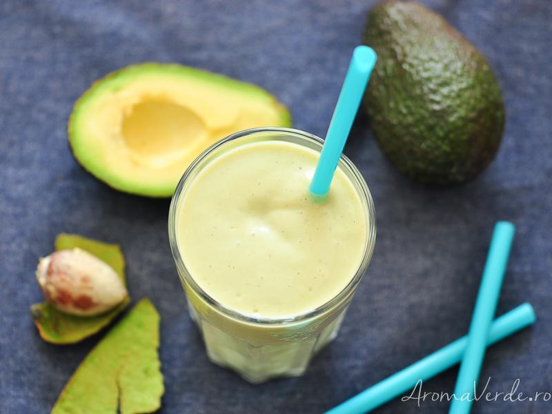Milkshake vegan cu vanilie
