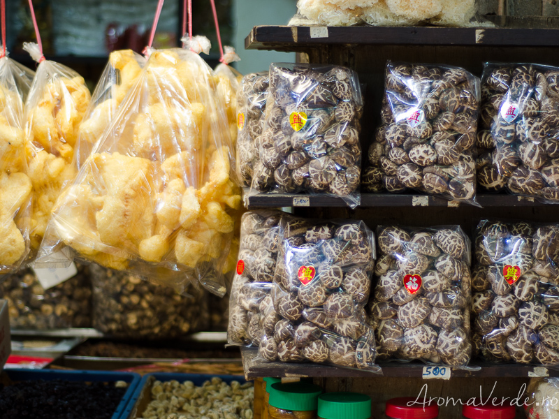 Ciuperci shiitake uscate Bangkok