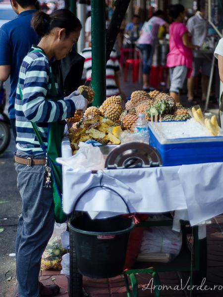 Fructe curățate de cumpărat