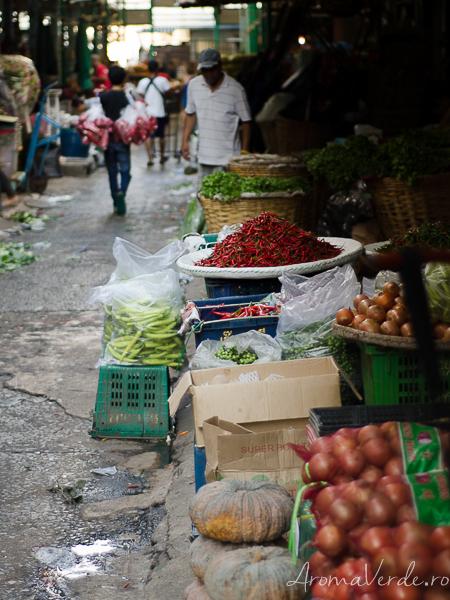 La piață în Bangkok