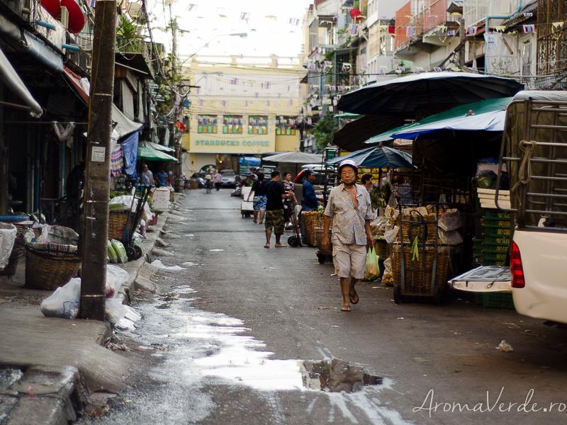Piața de legume și fructe Bangkok