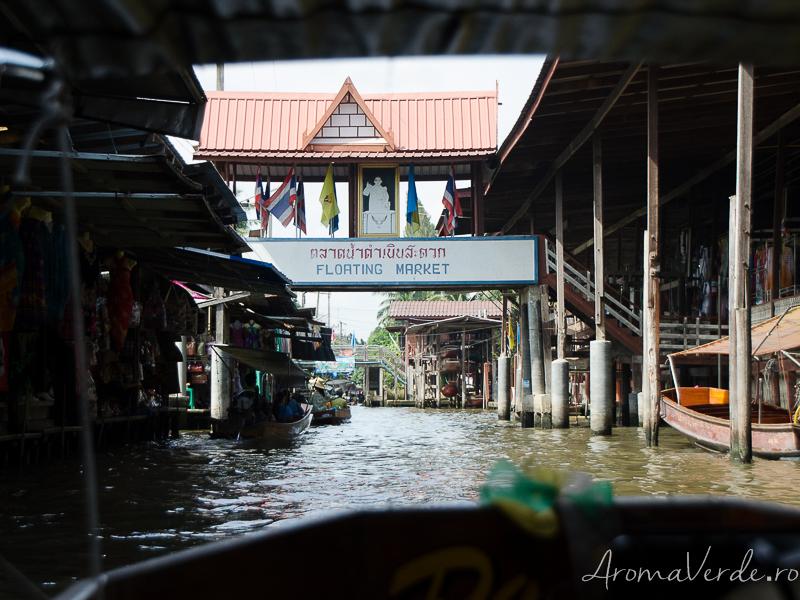 Piața plutitoare Bangkok