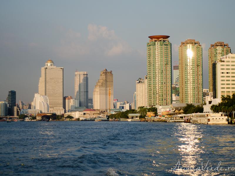 Râul Chao Phraya Bangkok