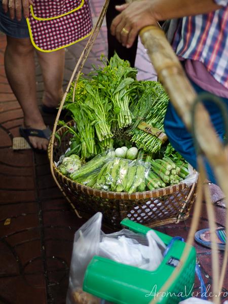 Verdețuri asiatice Bangkok