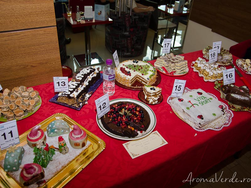 Prăjituri concurs Viva Sport