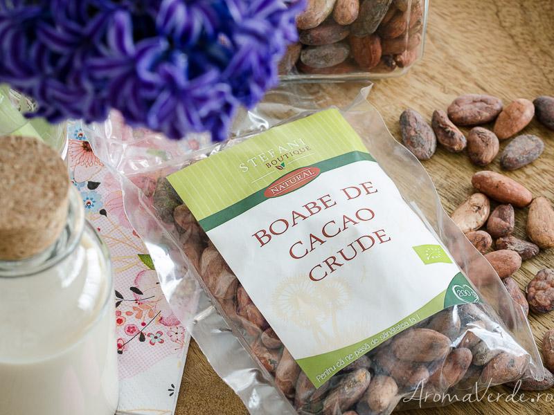Boabe de cacao crude Stefani Boutique