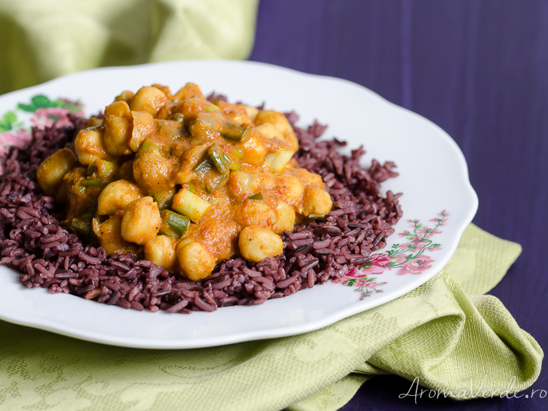Rețetă curry de năut