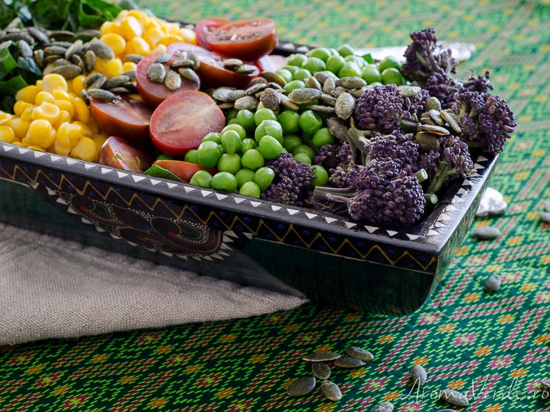 Salată bogată în proteine