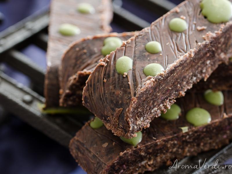Batoane vegane de ciocolată