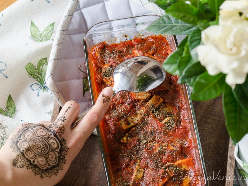 Lasagna rețetă vegană
