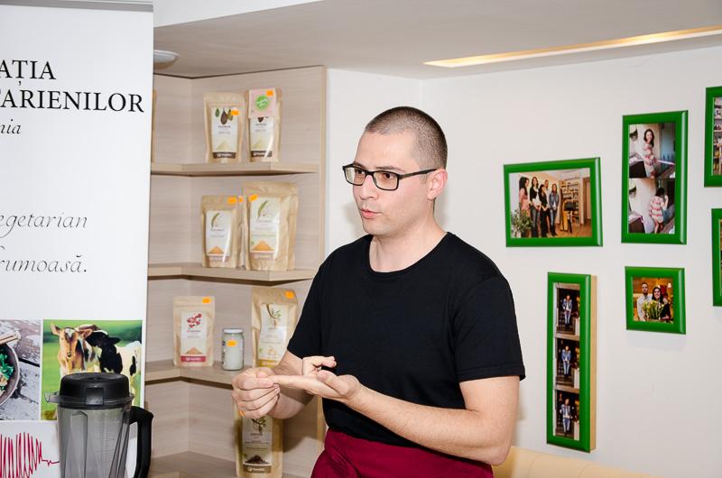 Ștefan Niță raw chef
