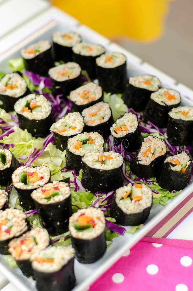 Sushi raw vegan Rawmazing