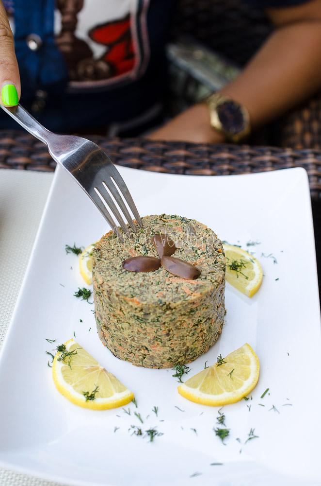 Drob de ciuperci restaurant Barca
