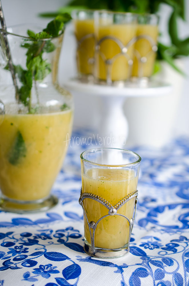 Limonadă cu pepene galben