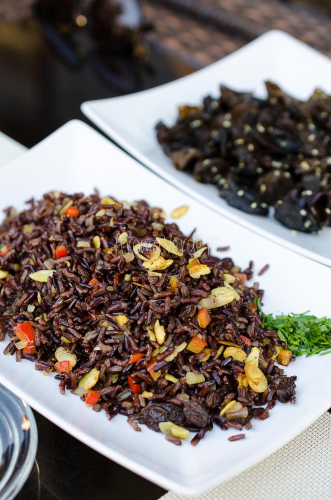 Orez negru exotic restaurant Barca