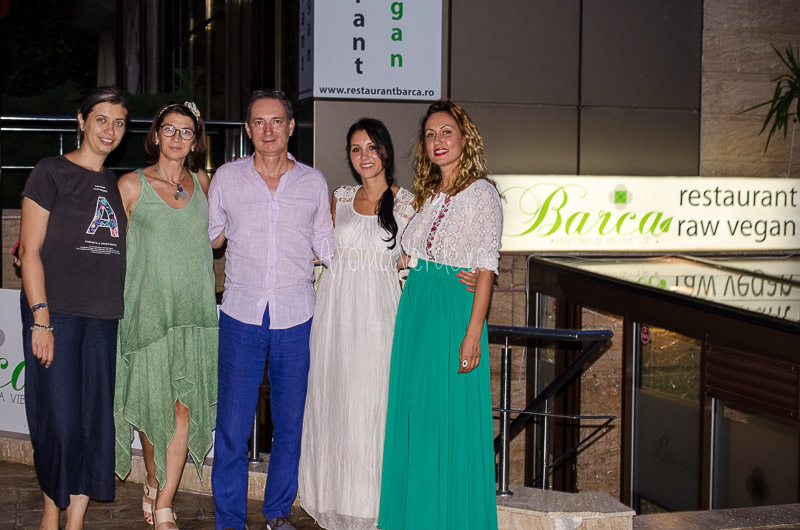 Proprietarii restaurant Barca și healthy bloggers clan
