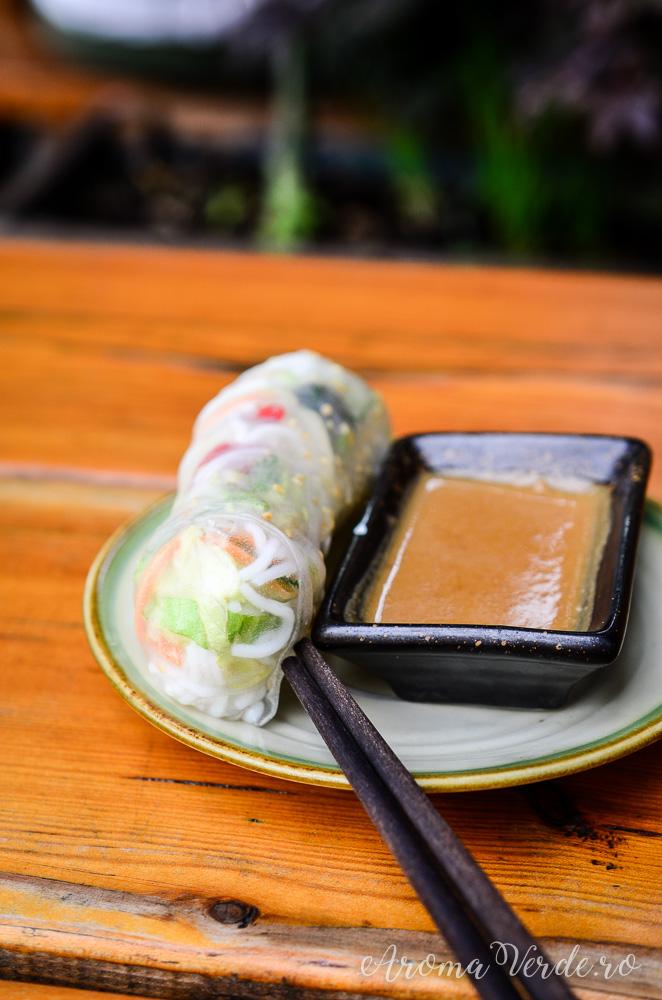 Roll asiatic cu legume Soy Berlin
