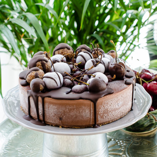 Tort raw de ciocolată